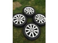 "VW Golf MK7 17"" Alloy Wheels"