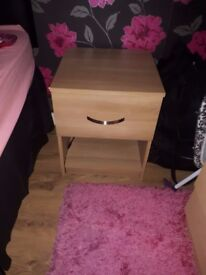 Two Bedside Cabinets £30