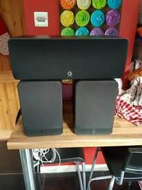 Q acoustic 2020 and 1000i centre speaker