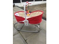 Musical Tiny love baby rocker and chair