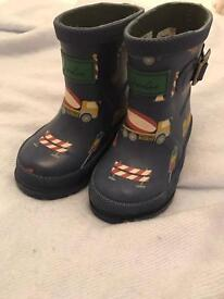 Little joules wellies size 4