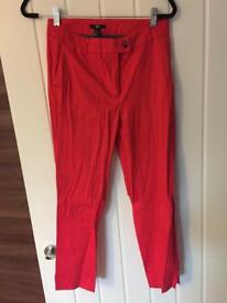 Size 10 pink trousers