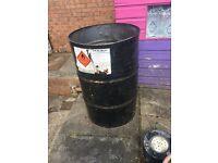 45 gallon drum / fire drum