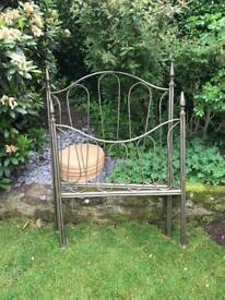 Exceptional wrought iron single bed £50 ono