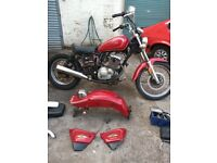 Suzuki Bobber Project