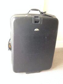 [Discounted] JUMBO size Samsonite suitcase - Black, with Key
