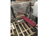 LIFE FITNESS SIGNATURE FLAT OLYMPIC BENCH FORSALE!!