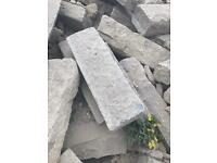 Concrete slabs in various sizes for sale (50 slabs £150)