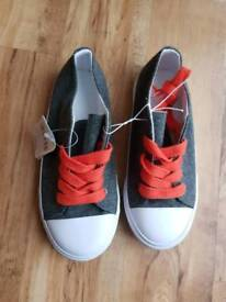 Boys Mothercare Trainers ~ 11 BNWT