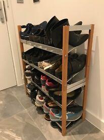 2x Stackable Shoe Racks/Stands/Holders