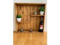 Wooden Shelf Décor
