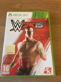 XBox 360 W2K15 game