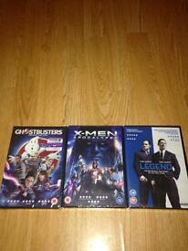New and sealed DVDs for sale