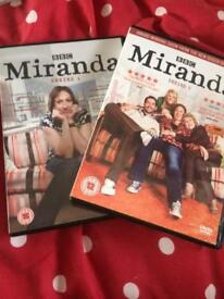 Miranda series 1&2 comedy DVD