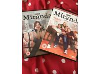 Miranda series 1&2 comedy DVD