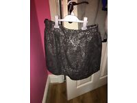 Woman's grey skirt size 14