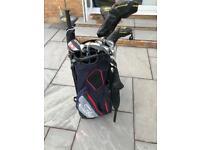 Full set Cobra golf clubs