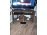 solid wood tv stand and wall unit
