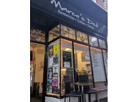 Busy long established sandwich bar with lots of scope for growth, leasehold.