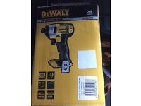 18 volt dewalt drill and inpact driver both brand new with 3x1.3amp batteries