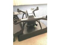 3dr solo drone with 3 axis gimbal