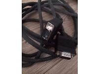 3.5M VGA SVGA 15 PIN CABLE PC TO TFT MONITOR LCD TV LEAD