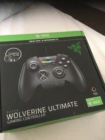 Xbox one Razer Wolverine controller (NEW)