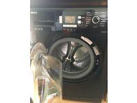 Black BEKO washing machine 8kg