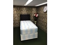 """Brand New 3FT Single Royality Bed Set ( 10"""" Royality Mattress & Base ) With Fast Delivery..."""