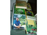 Six Fantastic gardening books in very good condition £30
