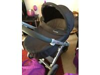 Black Oyster 1 or 2 or Max Carrycot fits all
