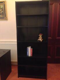 Black IKEA Billy Bookcase / Shelving Unit