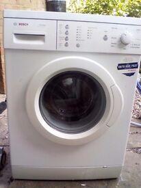 Bosch classixx washing machine 7kg 1400 less than 1 year old.