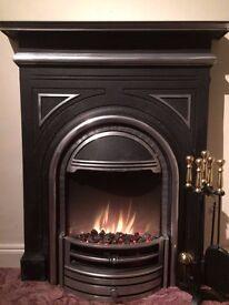 Dimplex Burlington Cast Electric Fireplace