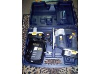 Cordless pro jigsaw with 2 batteries and charger