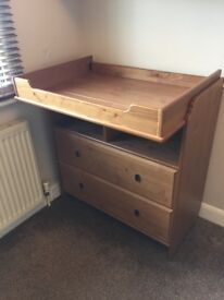 IKEA Leksvig Baby Changing Table - in VGC