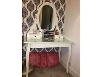 BRAND NEW HEMNES Dressing table with mirror - QUICK SALE!