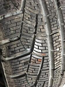 1 x 255/45/18 Pirelli runflat hiver 10/32