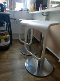 Ikea gas stools adjustable hights