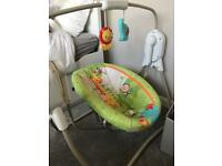 Fisher-Price rainforest swing cradle