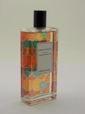 BERDOUES SCORZA DI SICILIA Eau de Parfum 3.4 fl oz / 100ml New Without Box