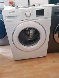 SAMSUNG 8KG ecobubble WF80F5E2W4W Washing Machine - White *NEW*