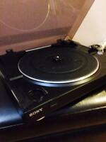 Sony turntable Record Playerr Rarely used