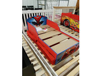 Spider-Man Toddler Bed with Drawers - Multicoloured (Please call - Michal 07851770393)