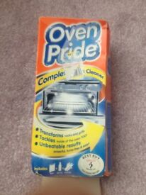 Oven Pride Complete Oven Cleaning Kit New