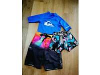 Swim shorts,T-shirt and boxer short
