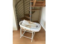New unused Moses basket £15 secures