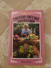Country Cottage Companion - By Peggy Cole - Signed copy