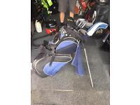 Wilson golf bag and mizuni t-zoid clubs