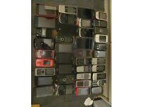 MOBILE PHONE JOBLOT SPARE OR REAIR, 40 PHONES IN TOTAL